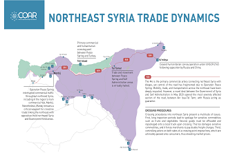 Infographic: Northeast Syria Trade Dynamics