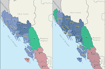 Map_V5_2015 Rakhine State Election Results and Constituencies Contested by the NLD in 2020-