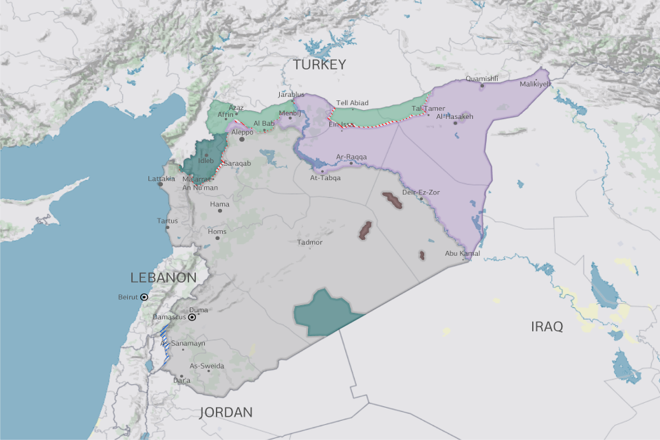 Syria in 2021