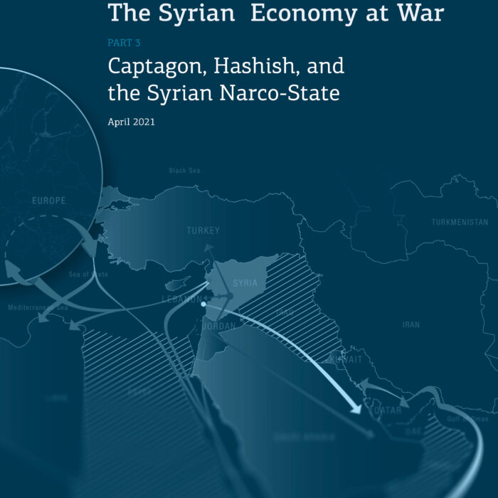 The Syrian Economy at War: Captagon, Hashish, and the Syrian Narco-State