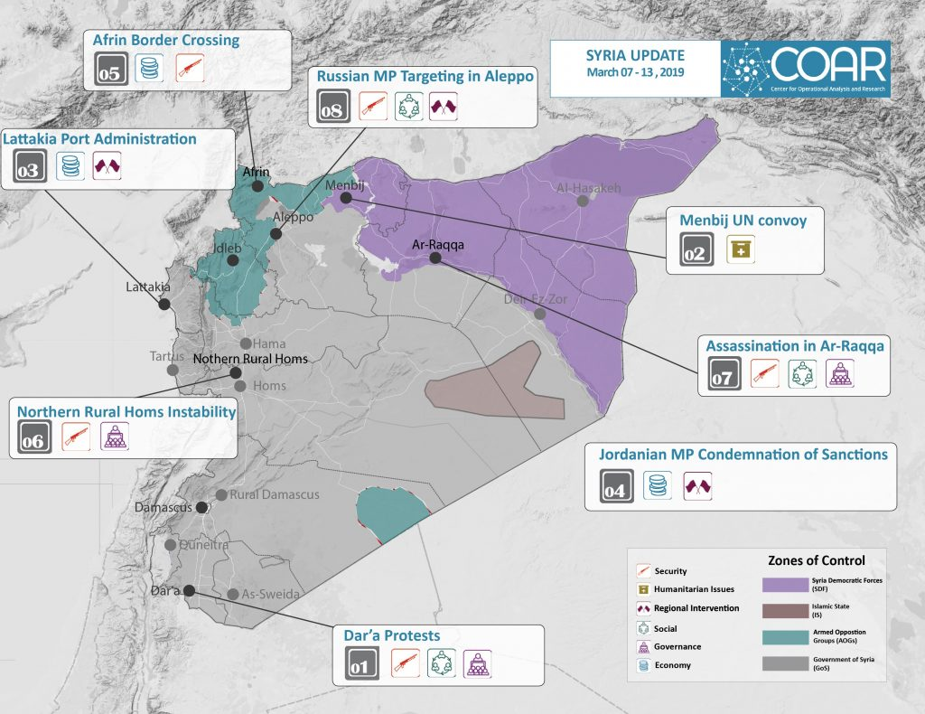 2019MAR13 COAR Syria Update Map