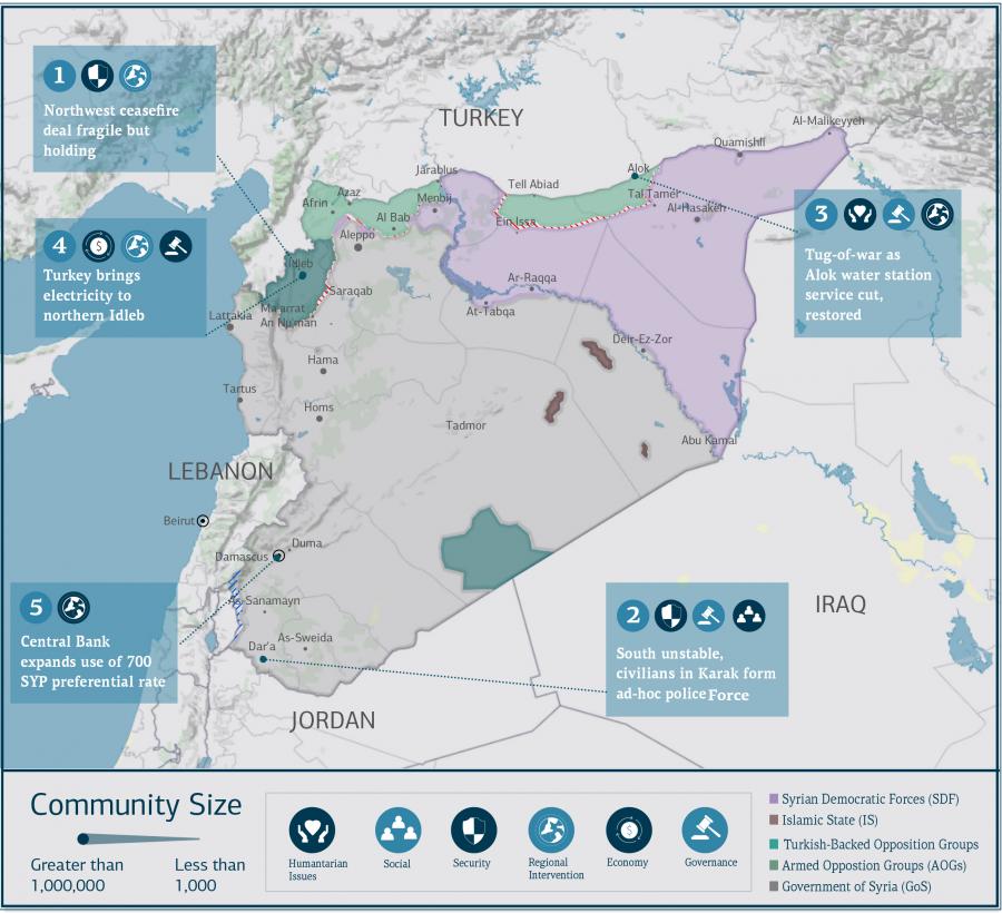 COAR Weekly Updare 30 March 2020 Map
