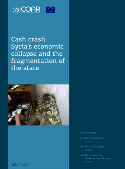 Cash crash- Syria's economic collapse and the fragmentation of the state