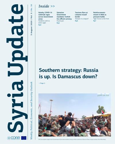 Syria Update 03 August 2020
