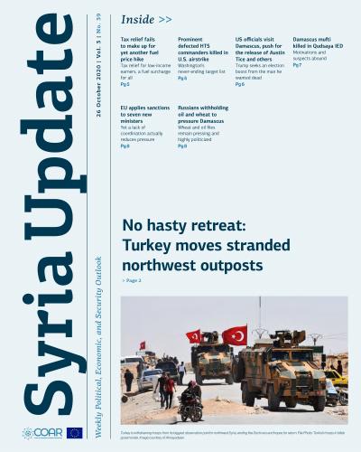 Syria Update 26 October 2020