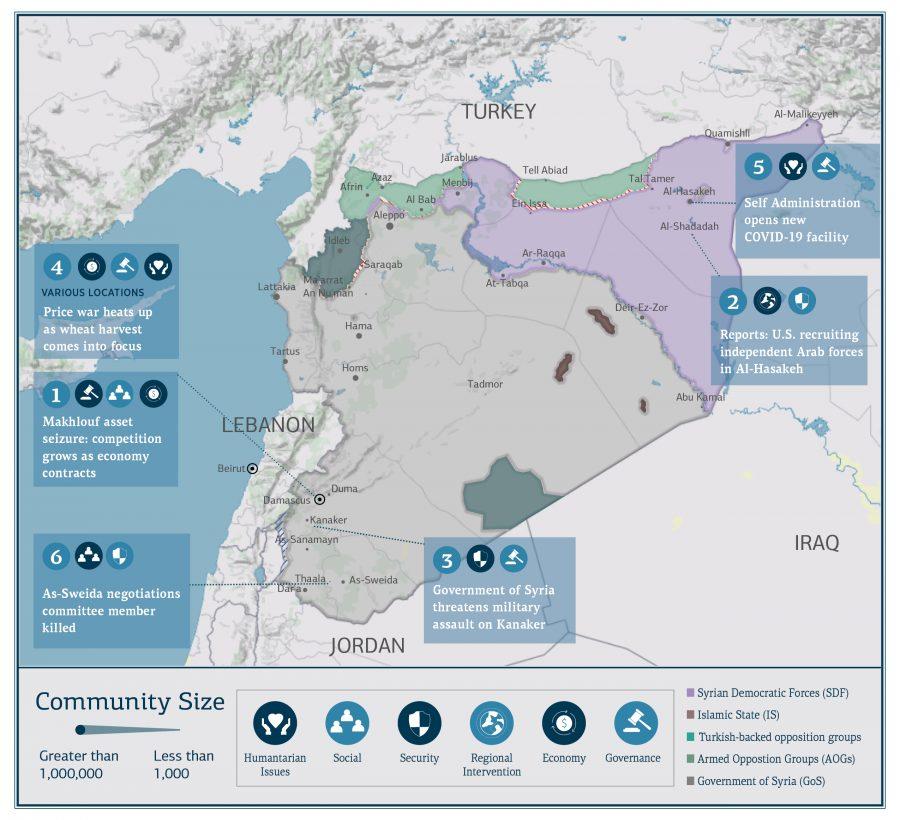 Syria Update Vol. 3 No. 16 WebMap