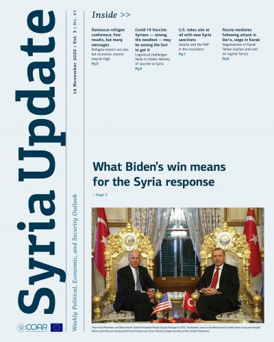 Syria Update Vol. 3 No. 43_Cover