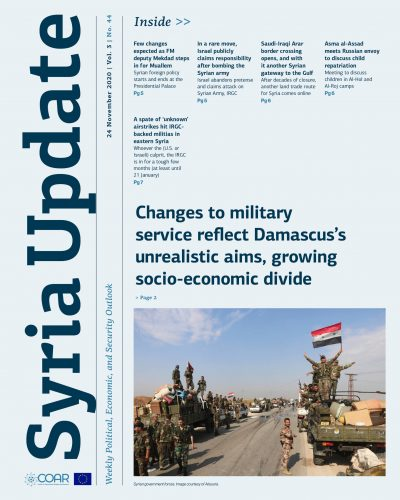 Syria Update Vol. 3 No. 44_Cover