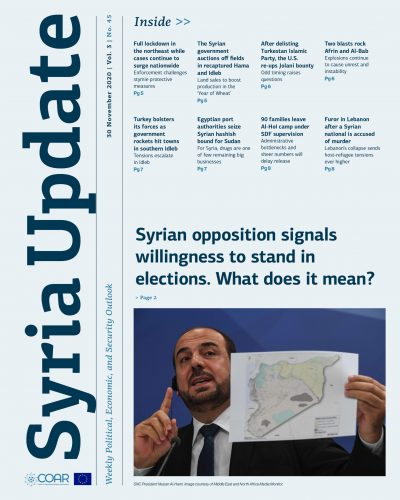 Syria Update Vol. 3 No. 45_Cover