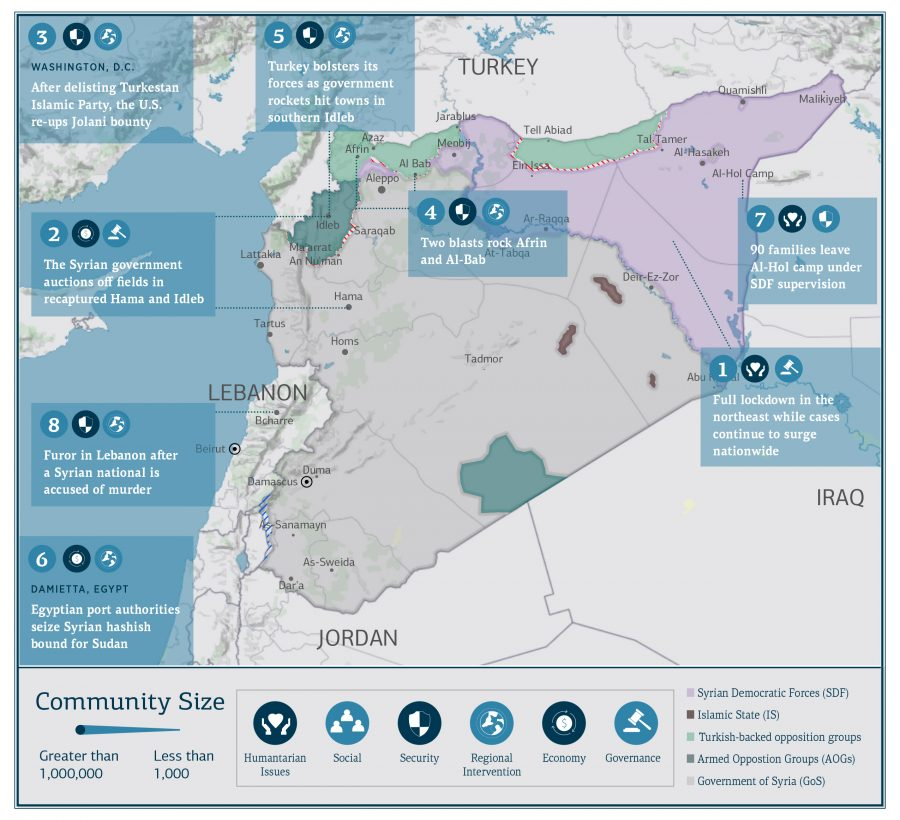 Syria Update Vol. 3 No. 45_WebMap