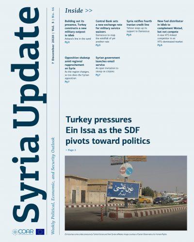 Syria Update Vol. 3 No. 46_Cover