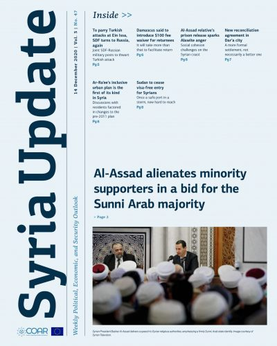Syria Update Vol. 3 No. 47_Cover