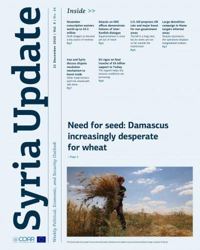 Syria Update Vol. 3 No. 48_Cover