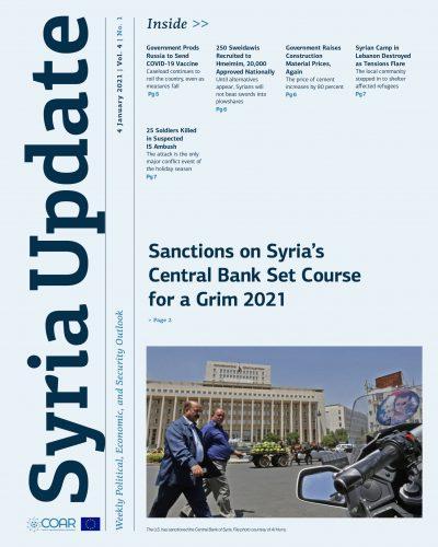 Syria Update Vol. 4 No.1_Cover