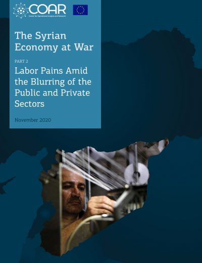 The economy of war in Syria_Paper_2_Cover