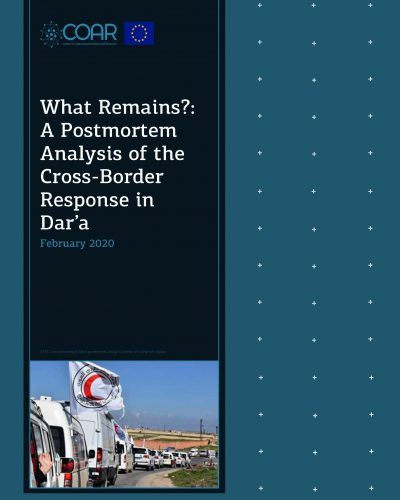 What Remains A Postmortem Analysis of the Cross-Border Response in Dar'a_Page_01