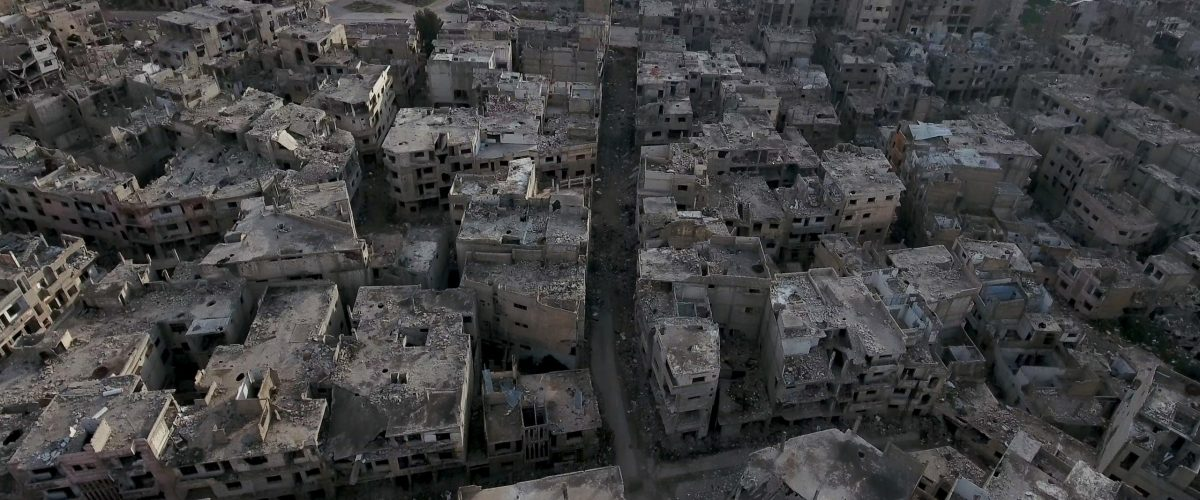 The,City,Of,Homs,In,Syria